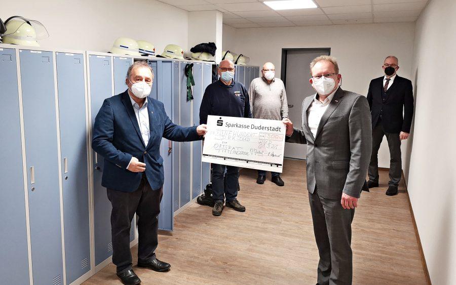 Ortsrat Tiftlingerode spendet an das DRK